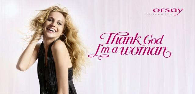Thank Got I Am Woman